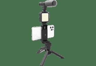 DIGIPOWER DPS-VLG2K 4-TEILIGES Vlogging Set Mehrfarbig