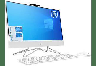 "All in one - HP 24-df0086ns Bundle PC, 23.8"" Táctil  FHD, Intel® Core™ i5-10400T, 8GB, 512GB, W10 Home, Blanco"
