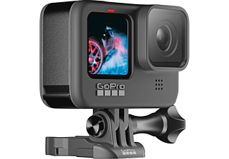 Cámara deportiva - GoPro Hero 9 Black, Vídeo 5k30, 20MP HDR, Slo-Mo x8, Sumergible 10m, HyperSmooth 3.0, Negro
