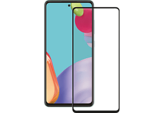 VIVANCO Displayschutzglas 2.5D für Samsung Galaxy A72 5G, Fullscreen