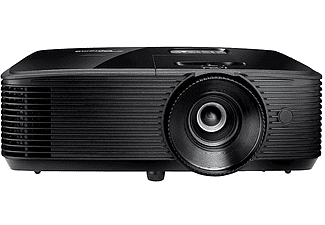 Proyector - Optoma HD28B, DLP, Full HD, 30.000:1, 3800 lm, Full 3D, Modo ISF, 28 dB, Negro