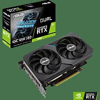 ASUS GeForce Dual RTX3060 O12G 12 GB (90YV0GB2-M0NA00) (NVIDIA, Grafikkarte)