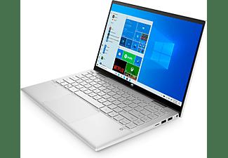 HP Pavilion x360 14-dy0356ng, Convertible mit 14 Zoll Display, Intel® Core™ i5 Prozessoren der 11. Generation Prozessor, 8 GB RAM, 512 GB SSD, Intel Iris Xe Grafik, Silber
