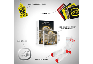 Scooter - God Save The Rave (Box)  - (CD + Merchandising)