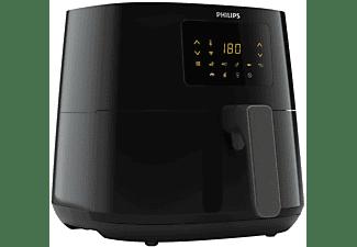 PHILIPS Essential HD9280 Airfryer XL Heißluftfritteuse 2000 Watt Dunkelsilber/Schwarz