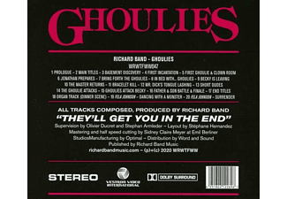 Richard Band - GHOULIES OST (FULL UNCUT ORIGINAL SOUNDTRACK)  - (CD)