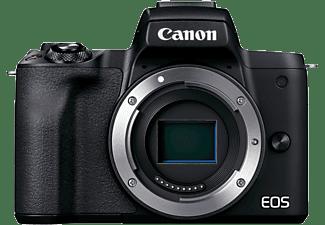 CANON Systemkamera EOS M50 Mark II Gehäuse, 24.1 MP, APS-C, 4K25p, 10B/s, OLED Sucher, Touch LCD, Schwarz