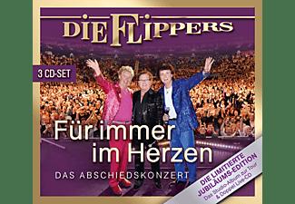 Die Flippers - Für immer im Herzen-Das Abschiedskonzert  - (CD)