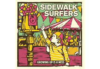 Sidewalk Surfers - Growing Up Is Mess (Turquoise)  - (Vinyl)