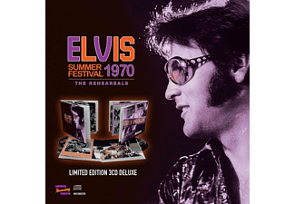 Elvis Presley - SUMMER FESTIVAL 1970 - THE REHEARSALS  - (CD)