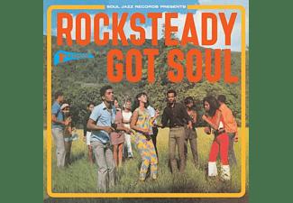 VARIOUS - Rocksteady Got Soul  - (LP + Download)