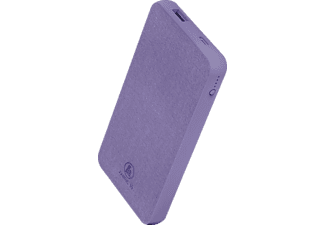 HAMA Fabric 10 Powerbank 10000 mAh Paisley Purple