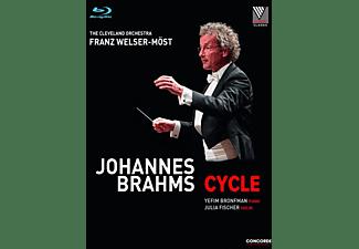Yefim Bronfman, The Cleveland Orchestra, Fischer Julia - Johannes Brahms: Cycle  - (Blu-ray)