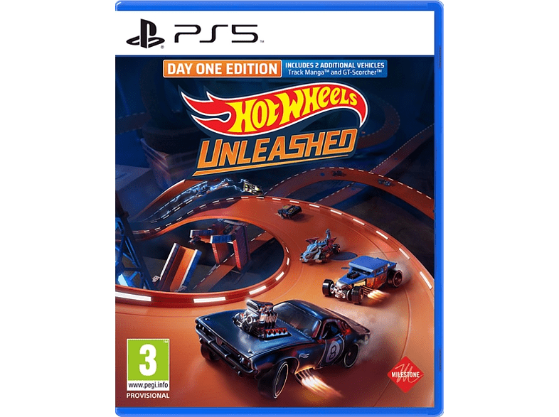Hot Wheels: Unleashed Day One Edition UK/FR PS5