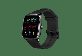 """Smartwatch - Amazfit GTS 2 Mini Midnight Black, 20mm, 1.55"""" AMOLED, Aleación de aluminio, iOS y Android, Negro"""
