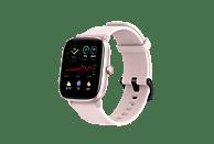"""Smartwatch - Amazfit GTS 2 Mini Flamingo Pink, 20 mm, 1.55"""" AMOLED, Aleación de aluminio, iOS y Android, Rosa"""