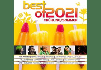 VARIOUS - Best Of 2021-Frühling/Sommer  - (CD)