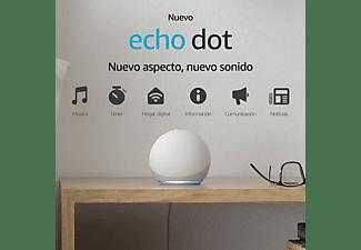 Altavoz inteligente con Alexa - Amazon Echo Dot (4ª Gen), Controlador de Hogar, Blanco
