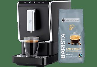 TCHIBO 519682 Esperto Caffè incl. 1kg Barista Kaffeebohnen Kaffeevollautomat Anthrazit