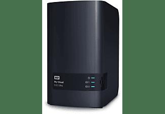 WD My Cloud™ EX2 Ultra NAS Speicher NAS, 16 TB HDD, 3,5 Zoll, extern, Anthrazit