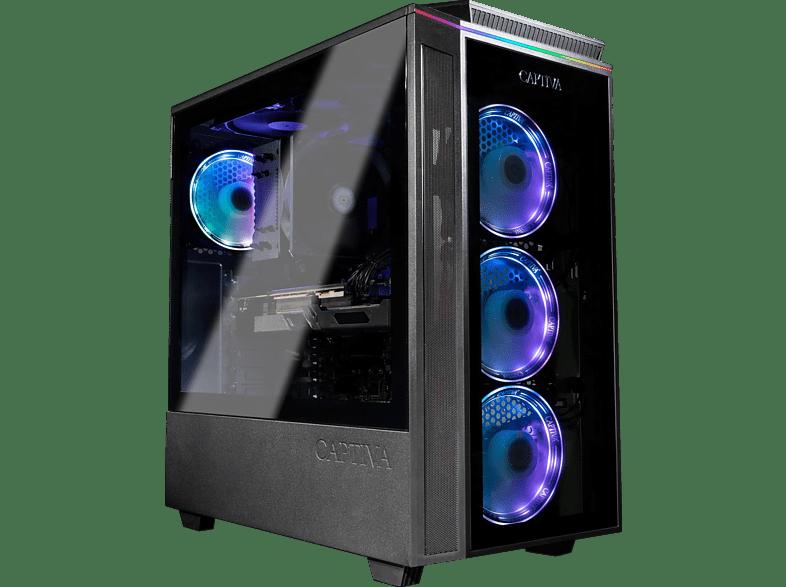 CAPTIVA G12IG 21V2, Gaming PC, 16 GB RAM, 240 SSD, 1 TB HDD, RTX 3070, 8