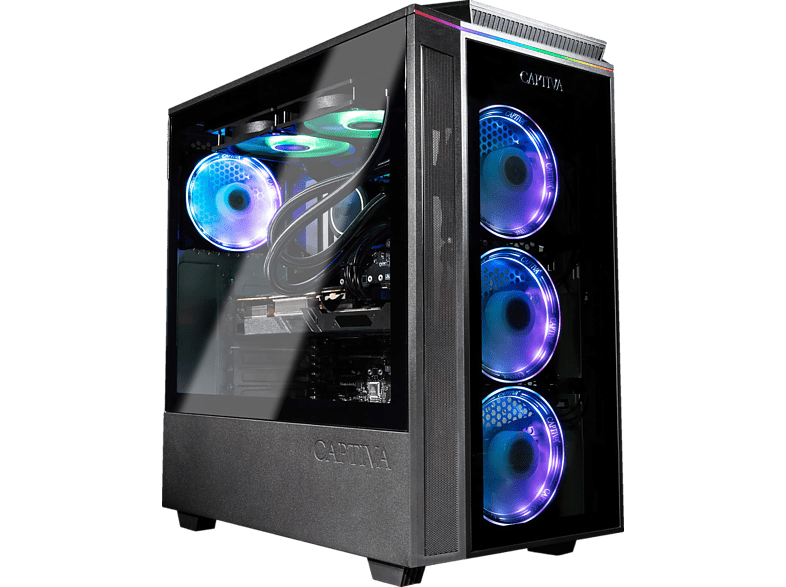 CAPTIVA G29AG 21V2, Gaming PC, 16 GB RAM, 1 TB SSD, 2 HDD, RTX 3090 24GB, 24