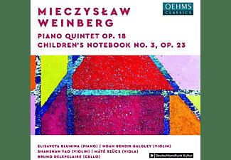 Blumina/Bendix-Balgley/Yao/Szücs/Delepelaire - PIANO QUINTET, OP. 18 And CHILDREN S NOTEBOOK, OP. 2  - (CD)