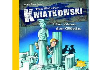 Jürgen Banscherus - Kwiatkowski: Die Nase der Göttin  - (CD)
