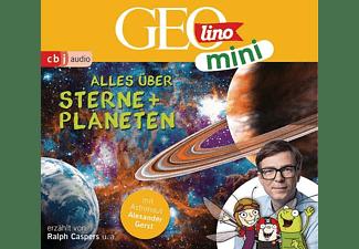 Versch,Oliver,  Kammerhoff,Heiko,  Ronte-Versch,J - GEOlino mini-Folge 4: Alles über Sterne und Plan  - (CD)
