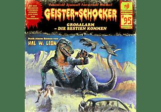Geister-schocker - Großalarm-Die Bestien Kommen-Vol.95  - (CD)