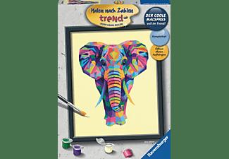 RAVENSBURGER Bunter Elefant Malen nach Zahlen Erwachsene Mehrfarbig