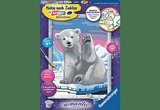 RAVENSBURGER Hallo, kleiner Eisbär! Malen nach Zahlen Kinder Mehrfarbig