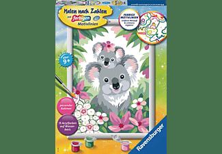 RAVENSBURGER Süße Koalas Malen nach Zahlen Kinder Mehrfarbig