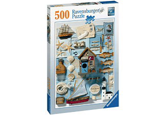 RAVENSBURGER Maritimes Flair Erwachsenenpuzzle Mehrfarbig
