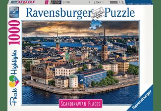 RAVENSBURGER Stockholm, Schweden Erwachsenenpuzzle Mehrfarbig