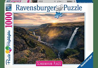 RAVENSBURGER Haifoss auf Island Erwachsenenpuzzle Mehrfarbig
