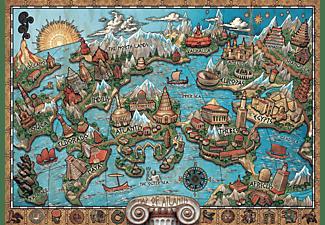 RAVENSBURGER Geheiminsvolles Atlantis Erwachsenenpuzzle Mehrfarbig