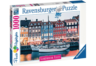 RAVENSBURGER Kopenhagen, Dänemark Erwachsenenpuzzle Mehrfarbig