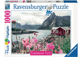 RAVENSBURGER Reine, Lofoten, Norwegen Erwachsenenpuzzle Mehrfarbig