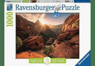 RAVENSBURGER Zion Canyon USA Erwachsenenpuzzle Mehrfarbig