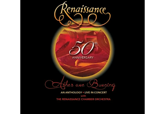 Renaissance - 50th Anniversary-Ashes Are Burning:  An Antholog  - (CD + DVD Video)