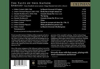 Hendrick,Ciara/Ujszászi,Kinga/Spiritato - The Taste of this Nation  - (CD)