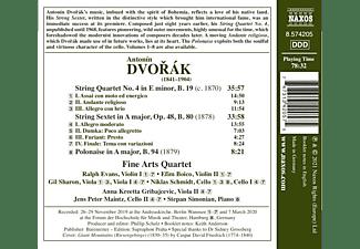 The Fine Arts Quartet - Spirit of Bohemia  - (CD)