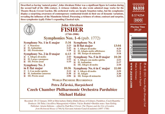 Zdsrsk,P./Halssz,M./Czech Chamber PO Pardubice - Sinfonien 1-6  - (CD)