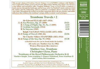 Gee,Matthew/Glynn,Christopher - Trombone Travels,Vol.2  - (CD)