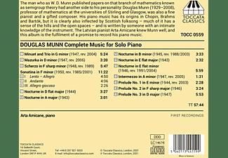 Arta Arnicane - Complete Music for Solo Piano  - (CD)