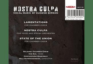 Nils/helsinki Chamber Choir Schweckendiek - Nostra Culpa  - (CD)
