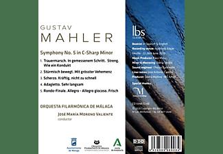 José Mariá/orquesta Filarmónica De Málaga Moreno - Mahler 5  - (CD)