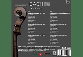 Asier Polo - Bach Cello Suites  - (CD)