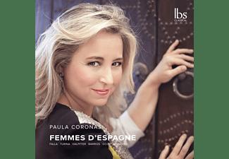 Paula Coronas - Femmes D'Espagne  - (CD)